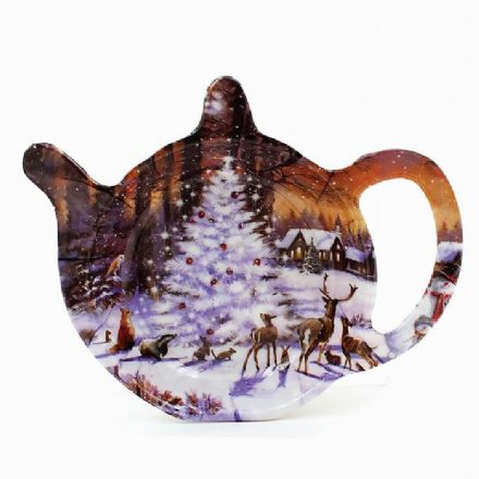 Macneil Winter Scene Tea Bag Holder